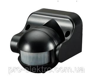 Уличный накладной инфракрасный датчик движения 180 градусов ZL8002 черный Z-Light