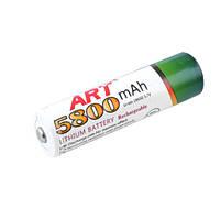 Аккумулятор ART 18650-5800mAh, белый