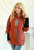 Куртка женская демисезонная в размерах с 50 по 58, фото 1