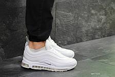 Кроссовки мужские Nike air max 97,текстиль,белые 44р, фото 2