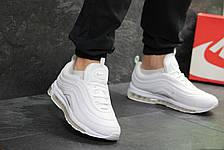 Кроссовки мужские Nike air max 97,текстиль,белые 44р, фото 3