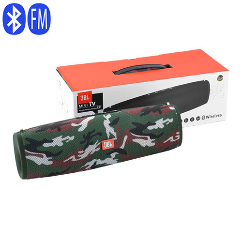 Bluetooth-колонки JBL mini TV E9, c функцією PowerBank, speakerphone, радіо