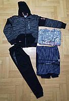 Спортивный костюм 3 в 1 для мальчика оптом, Grace, 134-164 см,  № B80309, фото 1