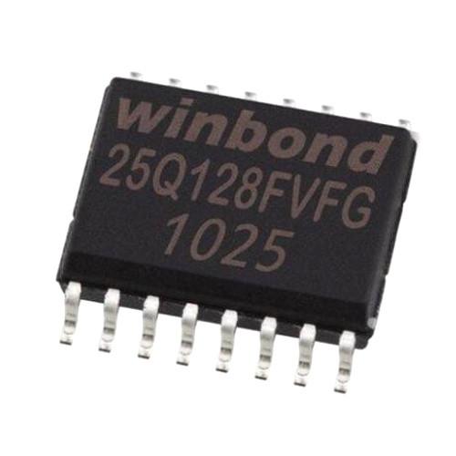 Чип Winbond 25Q128FVSG в корпусе SOP16, 128Мб Flash SPI
