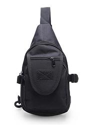 Тактическая,городская сумочка через плечо ForTactic Черная