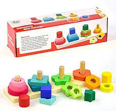 Деревянная игра Пирамидки С 31469