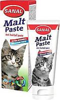 SANAL (Санал) Malt Paste паста для выведения шерсти из ЖКТ, для кошек, 20г.