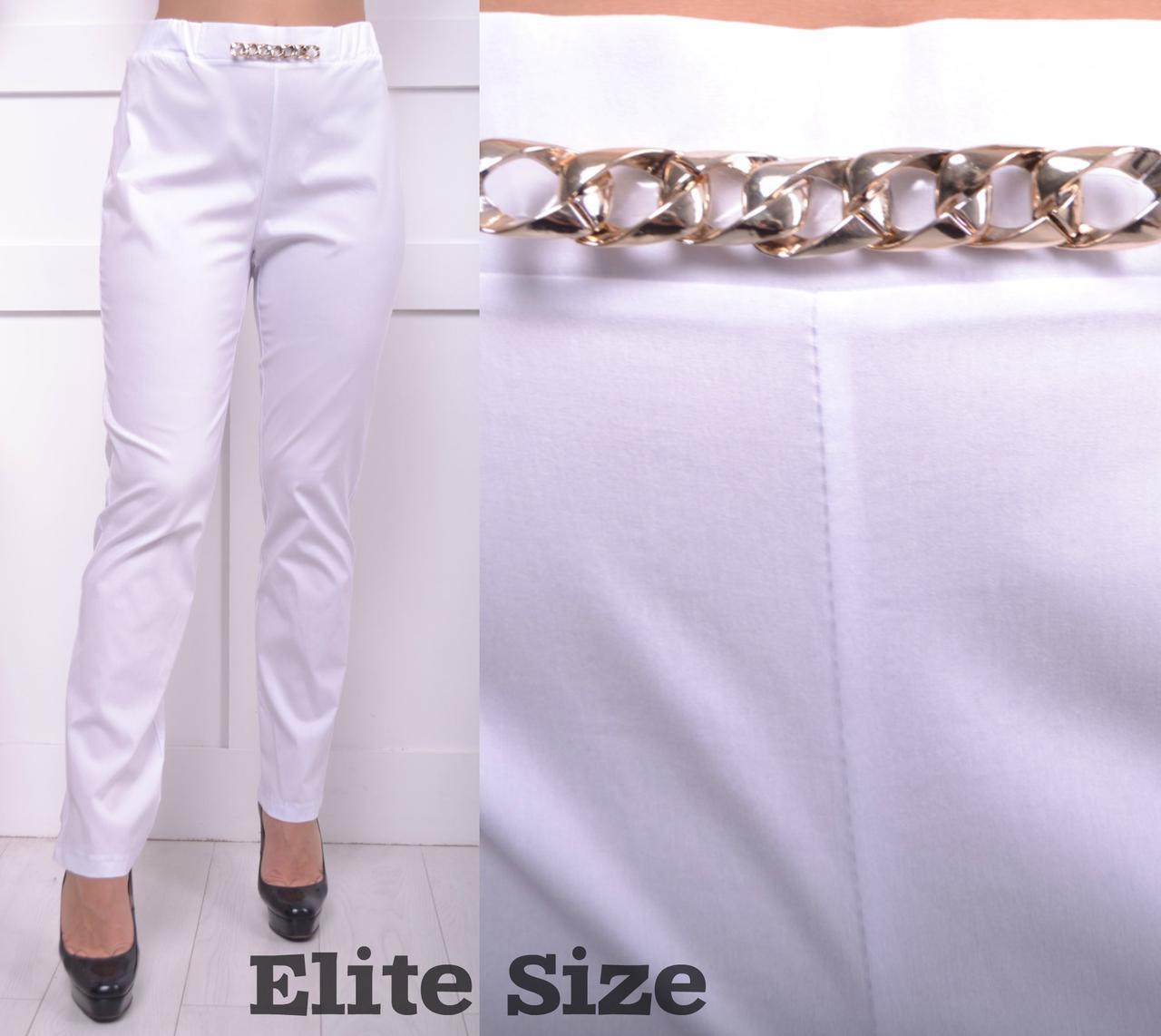 Женские легкие брюки батал в расцветках 6blr749