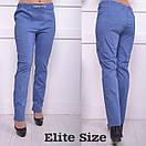 Женские легкие брюки батал в расцветках 6blr749, фото 3