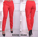 Женские легкие брюки батал в расцветках 6blr749, фото 4