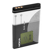 Акумулятор BL-5C, Nokia, 1020mAh, 3.7 V, 3.8 Wh