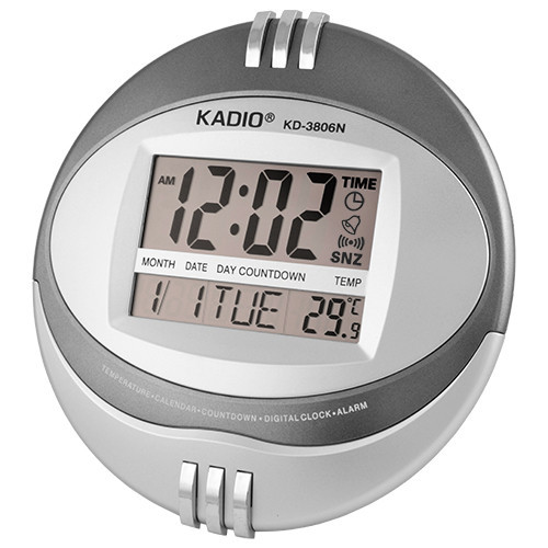Годинники електронні настінні Kadio KD-3806N