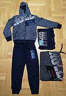 Трикотажный костюм 3 в 1 для мальчика оптом, Grace, 134-164 см,  № B80319, фото 1
