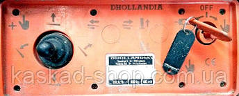 Пыльник Е0354 резиновый на джойстик Dhollandia, фото 2