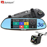 """Зеркало Junsun 7 Автомобильный видеорегистратор навигатор 7"""",WiFi  , фото 1"""
