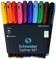 Капилярные ручки. Ручки-линеры Schneider Германия