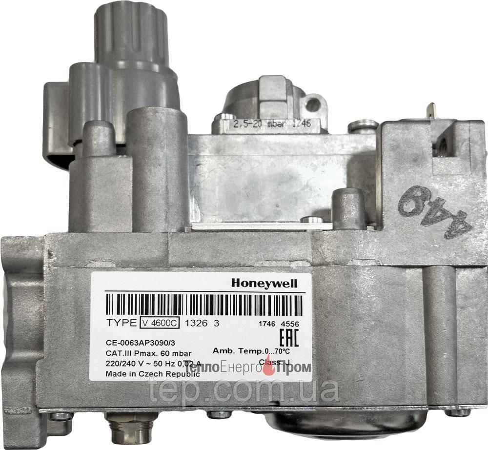 Клапан газовий Honeywell V4600C 1326 (V4600C1326) заміна V4600C1029 V4600C1086