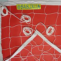 Сетка для классического волейбола «ЭКОНОМ 10 НОРМА» белая, фото 1