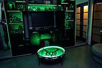 НАСТОЯЩАЯ Арена beyblade бейблейд арена волчек 86 см с жестким бортом и LED-подсветкой
