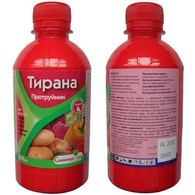 Тирана, 250 мл на 500кг картошки (оригинал)