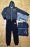 Спортивный костюм 3 в 1 для мальчика оптом, Grace, 140-170 см,  № B80300, фото 1