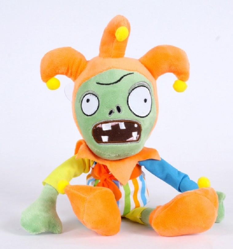 Зомби Шут Мягкая плюшевая игрушка Растения против зомби из игры Plants vs Zombies