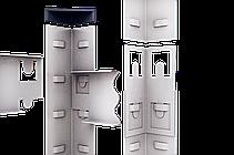 Стеллаж полочный Стандарт, оцинкованный, на зацепах (2400х1000х600), 5 полок, МДФ, 220 кг/полка, фото 3