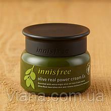Увлажняющий и питательный крем для лица с органическим маслом оливы Innisfree Olive