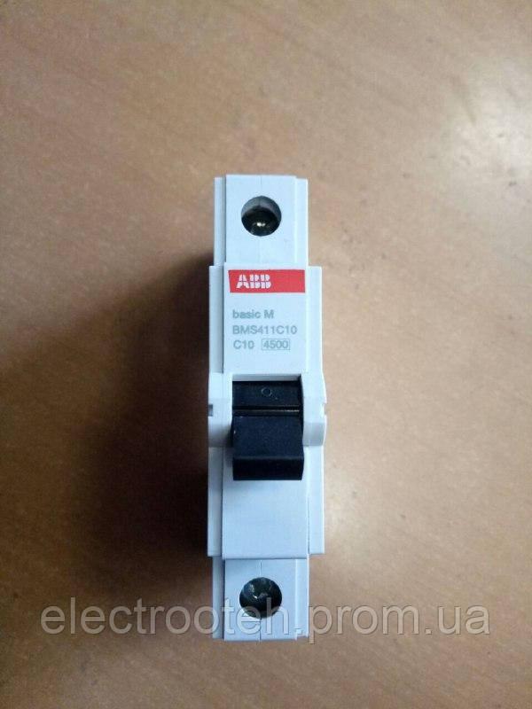 Автоматический выключатель ABB (1Р, 10А, C) 4.5кА