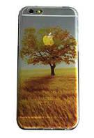 """Силиконовый чехол """"Осень"""" для Iphone 6 Plus (рисунок - печать), фото 1"""