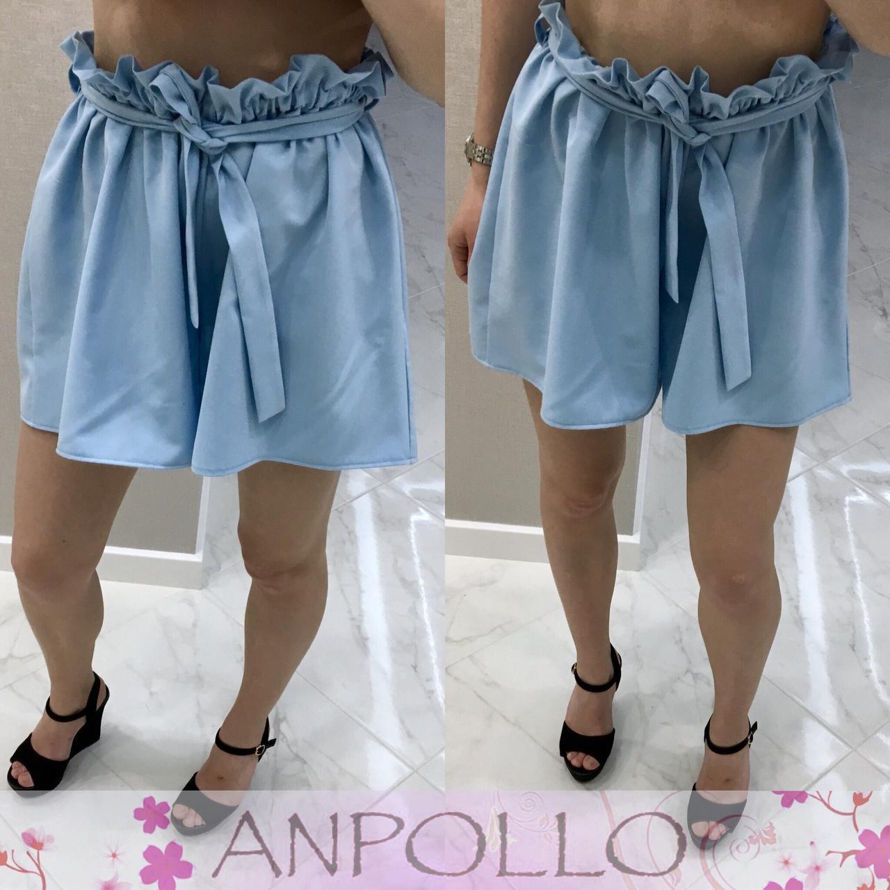 Свободные летние женские шорты в расцветках 17jus105