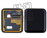 Дисплейный модуль (экран и сенсор) для Apple Watch 42 mm, черный
