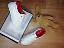 Белые стильные кроссовки мокасины Nautica Оригинал (Размер 34,стелька 22,5см), фото 4