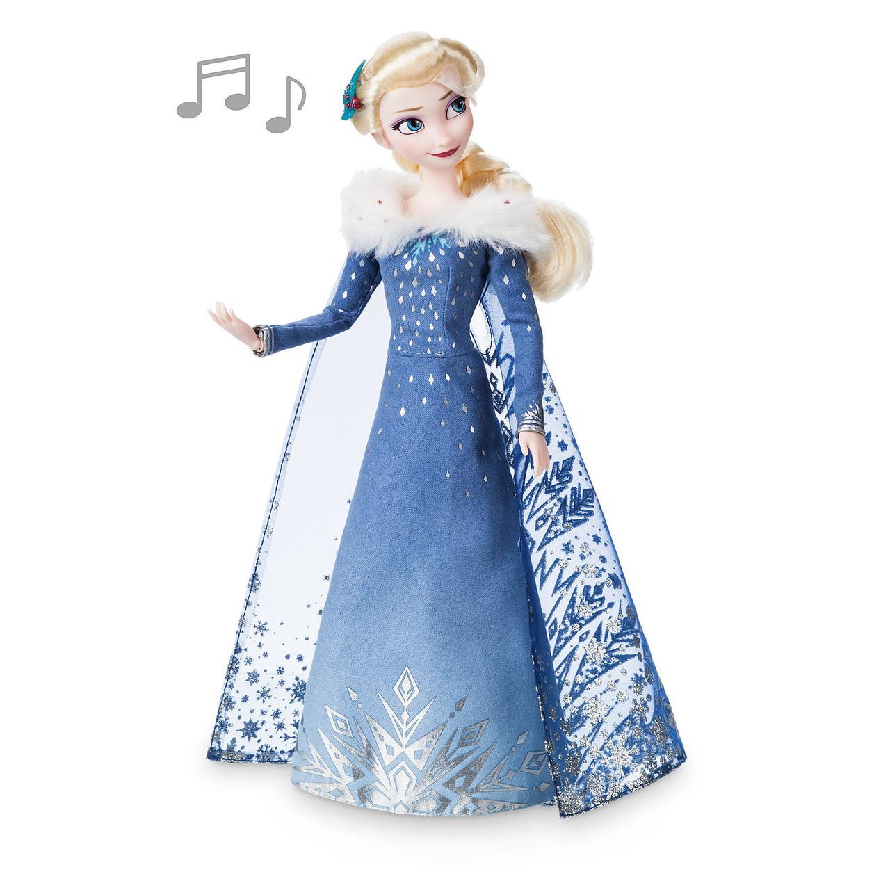 Поющая кукла Эльза - Холодное сердце (Frozen) куклы Дисней - принцесса Elsa