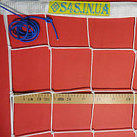 Волейбольная сетка «ЭЛИТ 15» с паракордом белая, фото 1