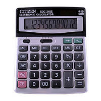 Калькулятор CITIZEN 240,  двойное питание