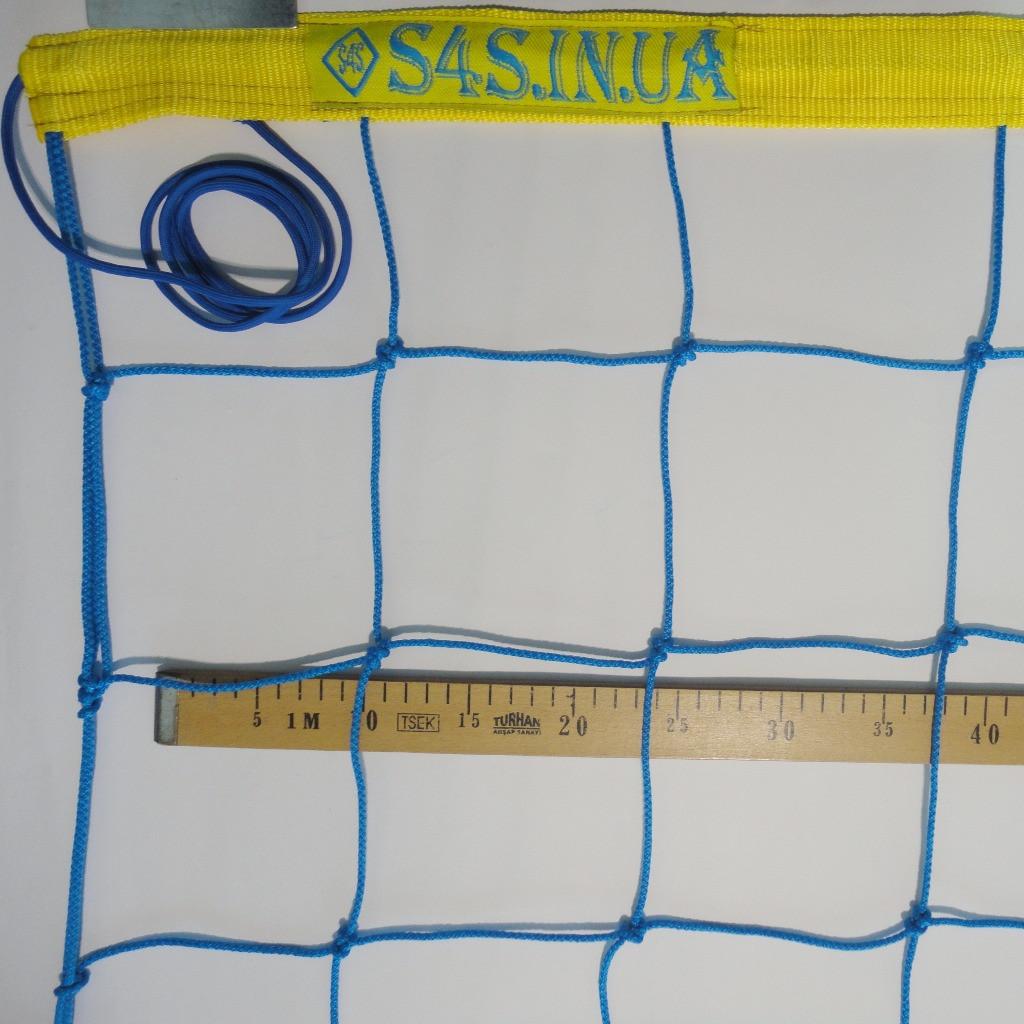 Сетка для классического волейбола «ЭЛИТ 15» сине-желтая