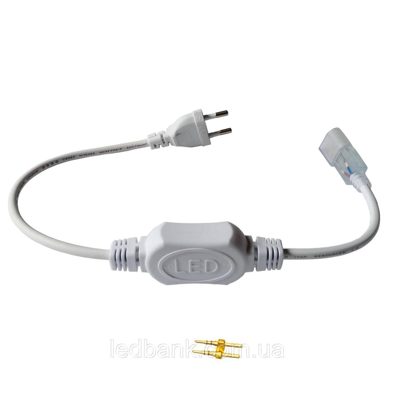 Шнур питания для LED Neon 220V до 100 метров