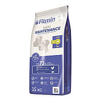 Сухой корм холистик для собак Fitmin dog maxi maintenance, для крупных пород ,Чехия