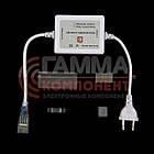 Светодиодная лента 220В RGB AVT smd 5050-60 лед/м 10 Вт/м, герметичная. Бухта 50 метров., фото 2