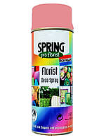 Краска для живых цветов SPRING  029 (400 мл) розовая