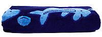 Махровое полотенце банное 70х140 см BLUE DOLPHIN Узбекистан