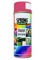 Краска для живых цветов SPRING  035 (400 мл) малиновая