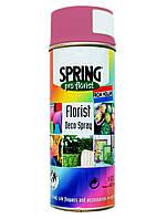 Фарба для живих квітів SPRING 008 (400 мл) яскраво-рожева