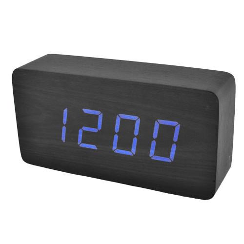 Годинник мережеві 867-5 сині, USB