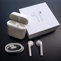 Беспроводные наушники Bluetooth iFans HBQ I8X mini TWS белые магнитный кейс