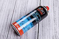 Газ сжиженный BURN (220g),для горелок,обогревателей,портативных плит