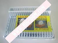 Сушилка для тарелок нержавейка с поддоном Сушилка для посуды из нержавейки Сушка для посуды с поддоном Сушилка раскладная 4513