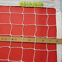 Волейбольная сетка «ЭЛИТ 10 НОРМА» с тросом белая, фото 1