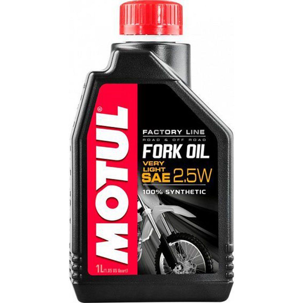 Вилочное масло Motul Fork Oil very light Factory Line 2,5W 1л